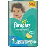 Plenky Pampers Active Baby-Dry 4+ maxi plus 9 16 kg 70ks