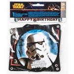 Girlanda Happy Birthday Star Wars 1ks