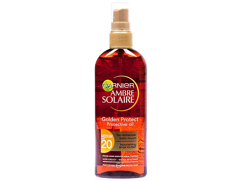 Garnier Ambre Solaire - opalovací olej Golden Protect OF 20, 150ml