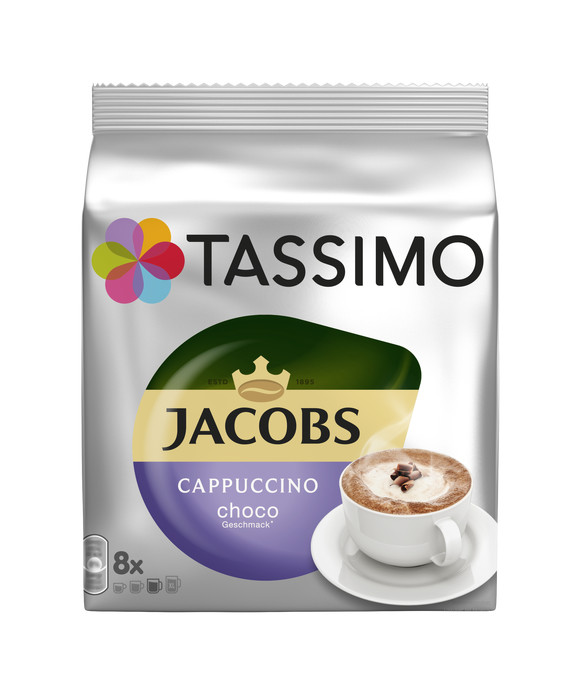 Tassimo Jacobs Choco Cappuccino 208g